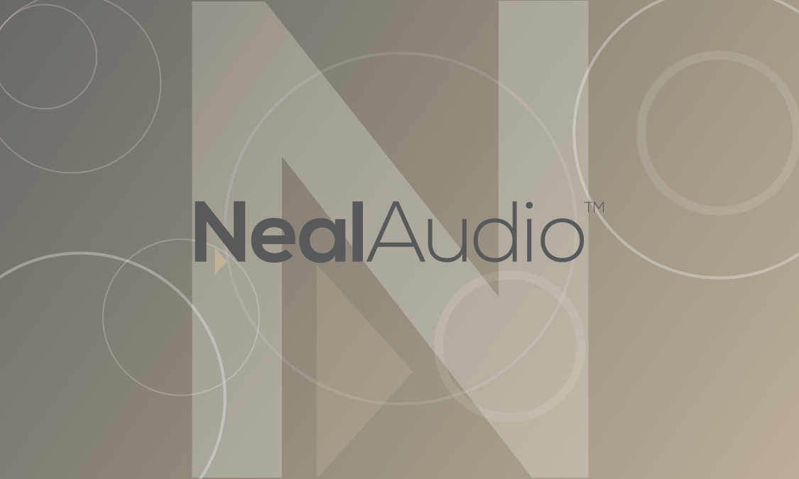 Neal Audio Back Business Card